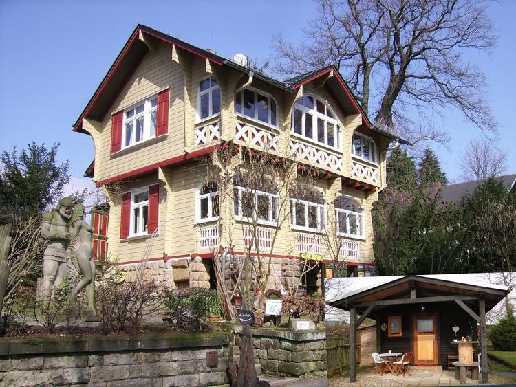 Villa Falkenstein übernachtung bad schandau sachsen berghütte falkenstein pensionen