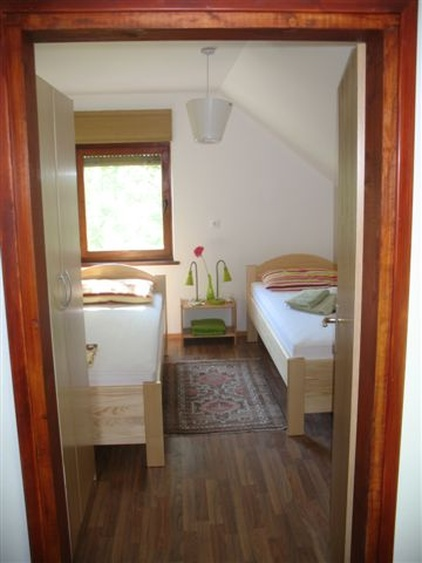 One of the 4 Double Bedrooms