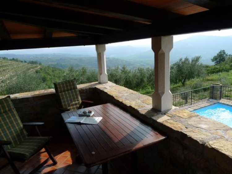Overlooking your Private Pool - Villa Klarici for 2