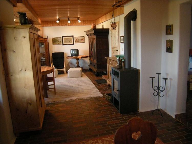50 m² FeWo mit Kaminofen. (Holz liegt bereit!)