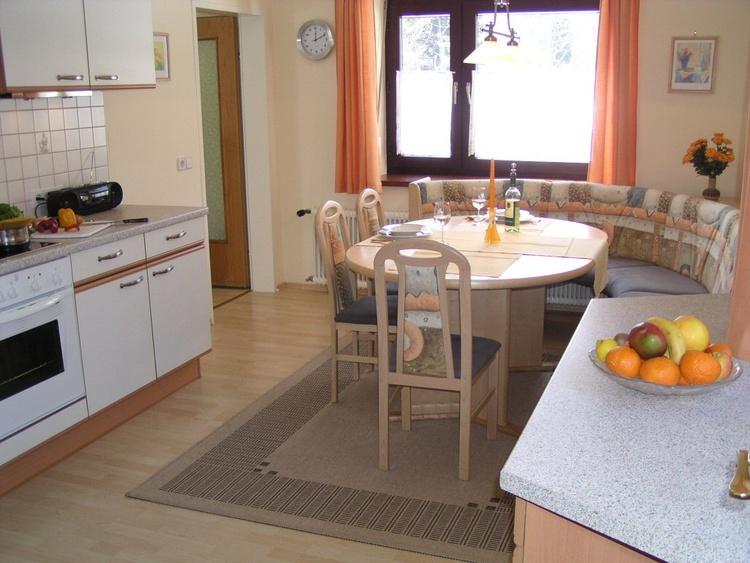 Küche der 55m² Wohnung