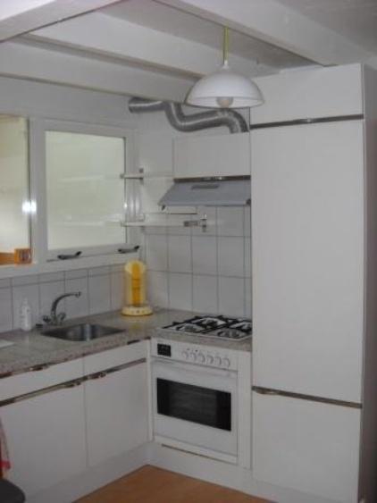 open kitchen corner