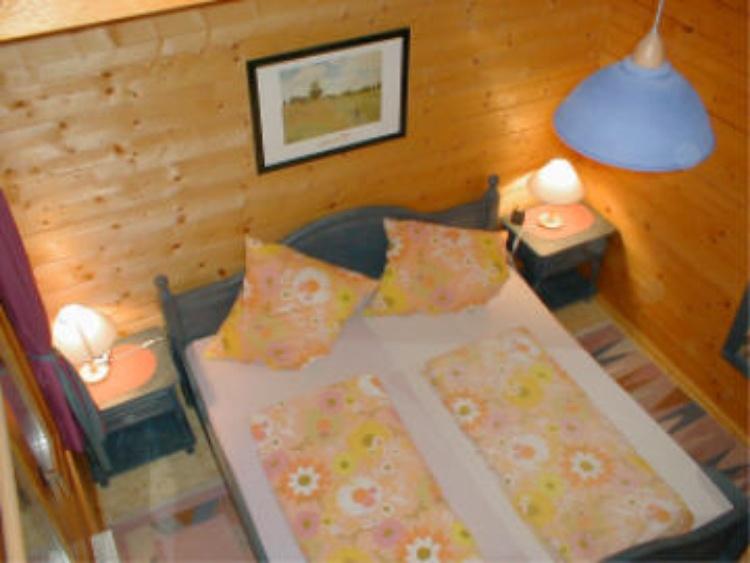Eltern-Schlafzimmer Blockhaus 6