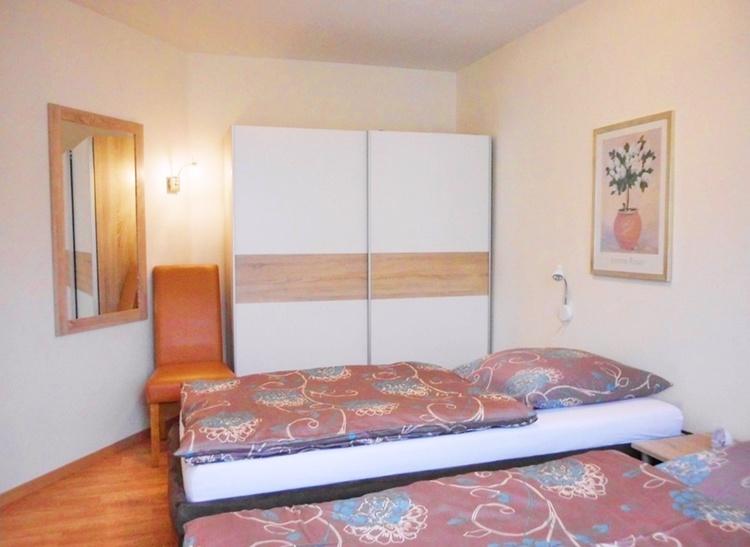 Das zweite Schlafzimmer, Einzelbetten auf Wunsch