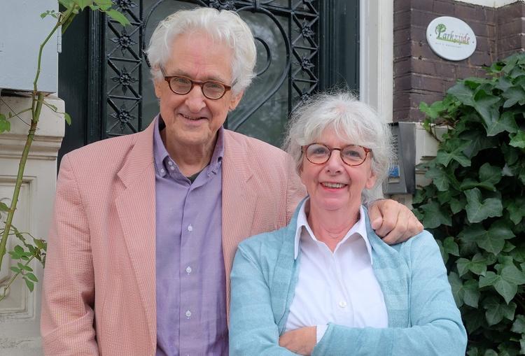 Martijne (right) and Bernard