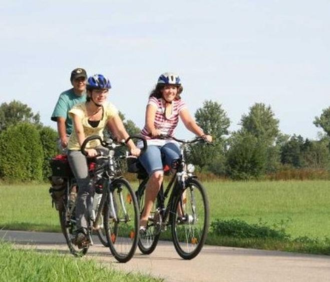 Abwechslungsreiche Fahrradwege