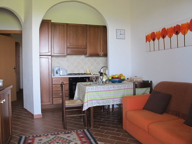 Open plan kitchen dining lounge area