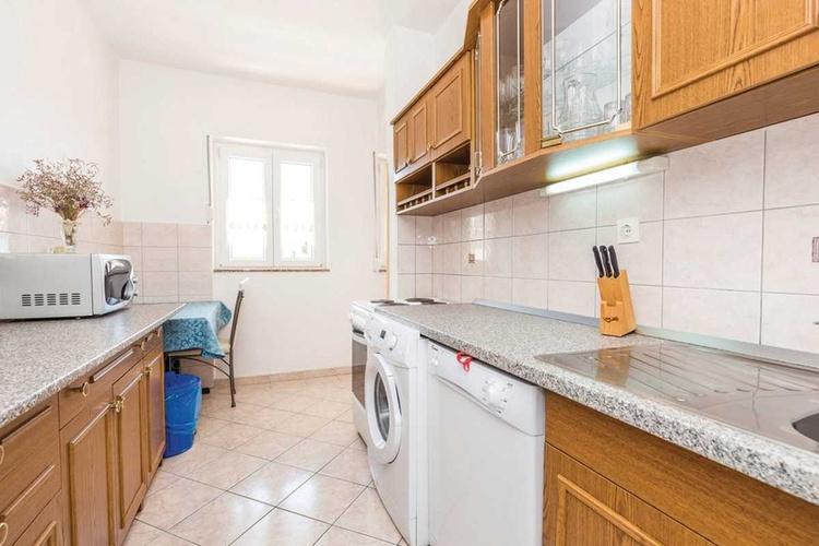 Küche mit wasch+spuhl