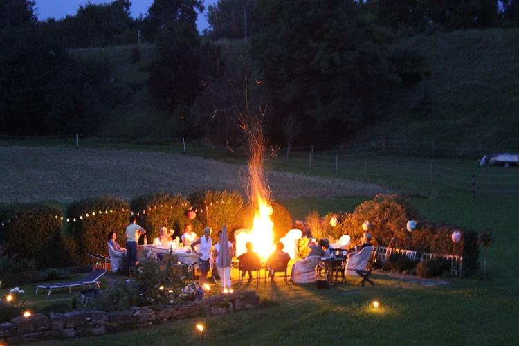 Mögen Sie Lagerfeuerromantik?