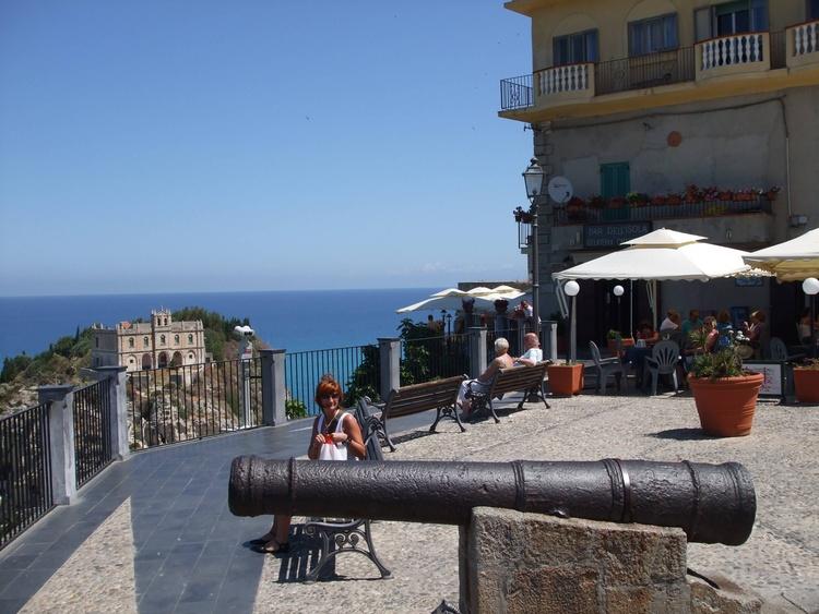Piazza Cannone in Tropea