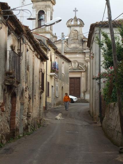 Barbalaconi mountain village 3 km from the apartment