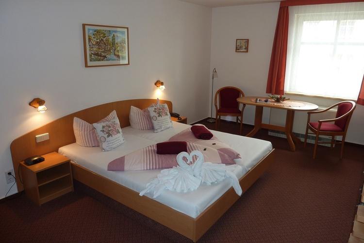 Spreewald Pension Spreeaue Doppelzimmer Apartment