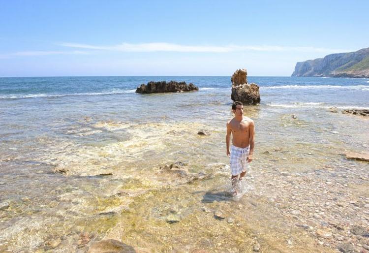 Das blaue Mittelmeer