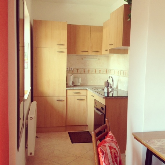 Apartment fully equipped kitchen pr'Skminc