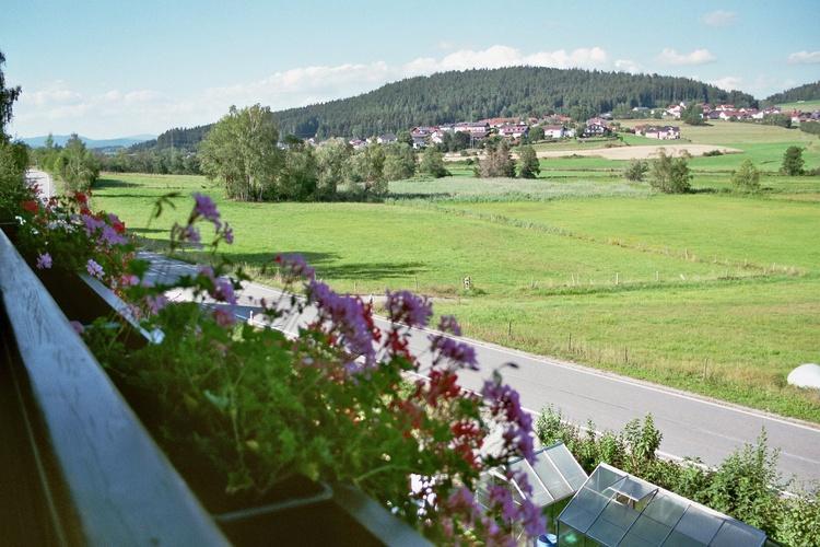 Blick vom Balkon der FeWo
