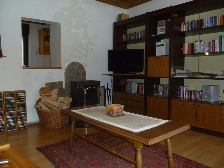 Corner of Lounge from One of the Sofas