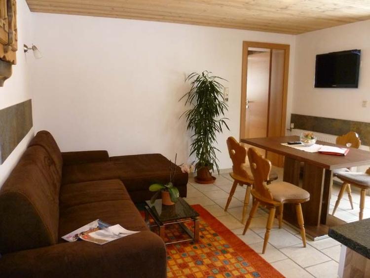 Apartment Silvretta Livingroom with kitchen