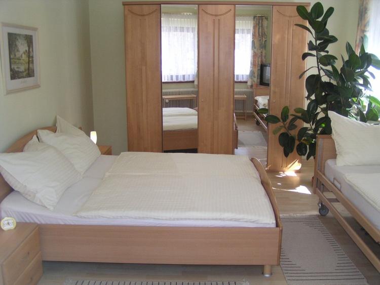 Schlafzimmer der 55m² Wohnung