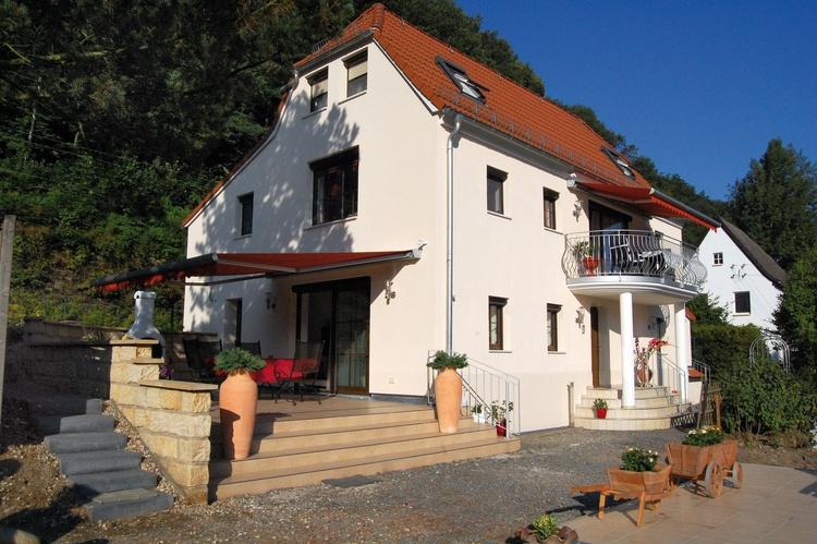 Hausansicht der Villa Romantica Pirna
