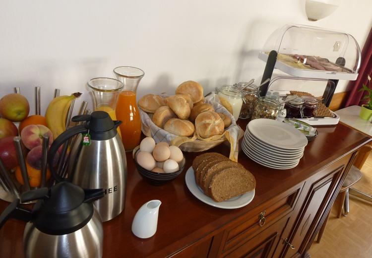 Every morning a fresh breakfest buffet