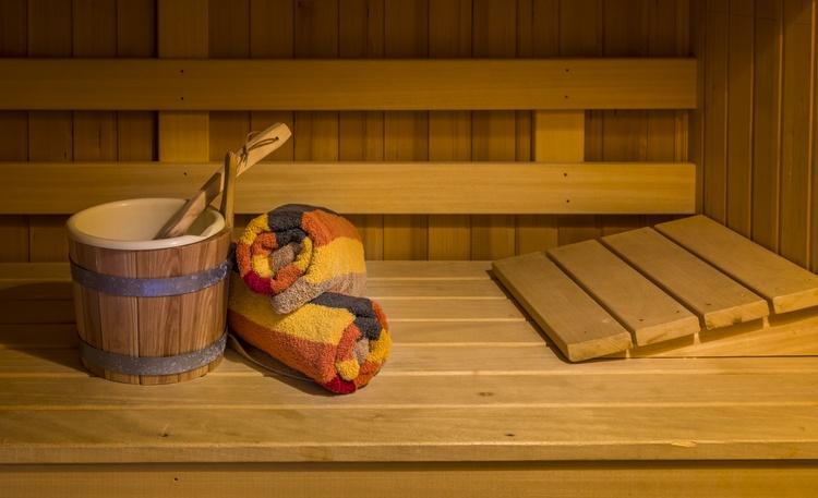 Apartment 1 sauna