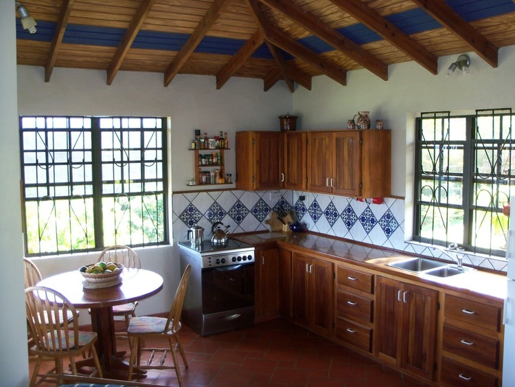 Fully equipped kitchens in all cottages.