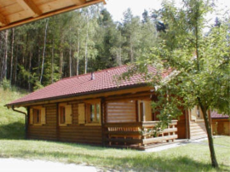 Blockhaus 6 seitlich