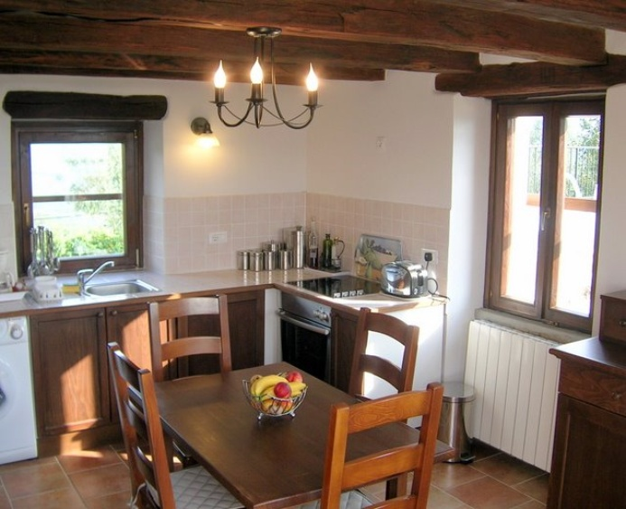 Well Equipped Kitchen - Villa Klarici for 2