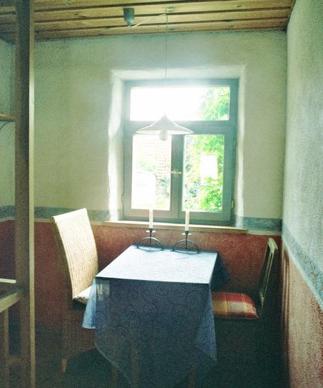 romantischer Sitzplatz im Haus