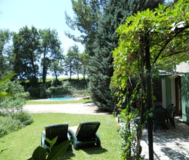 accommodation Ansouis France