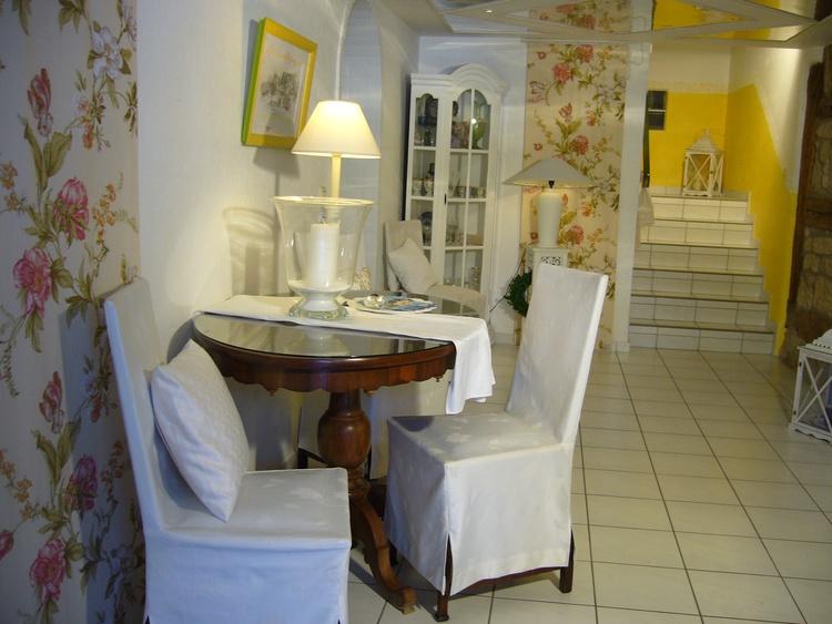 Eingangsbereich zu den Ferienwohnungen