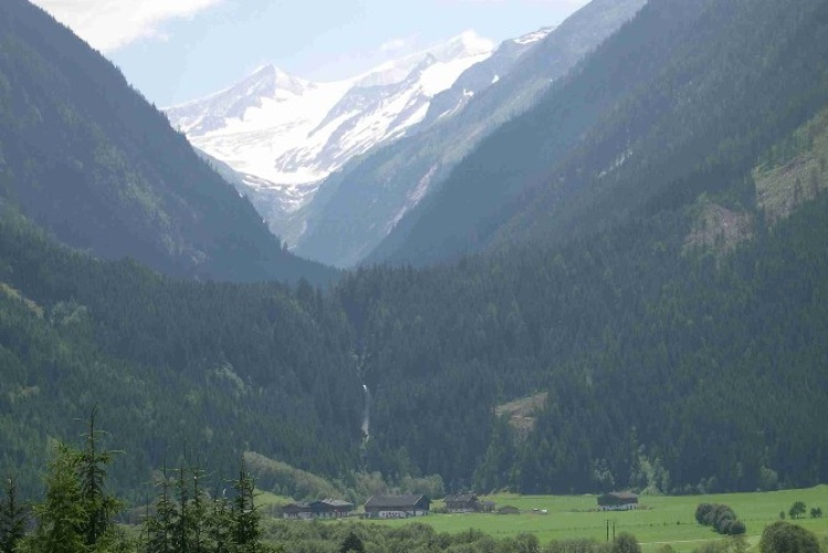 View on the Hohe Tauern