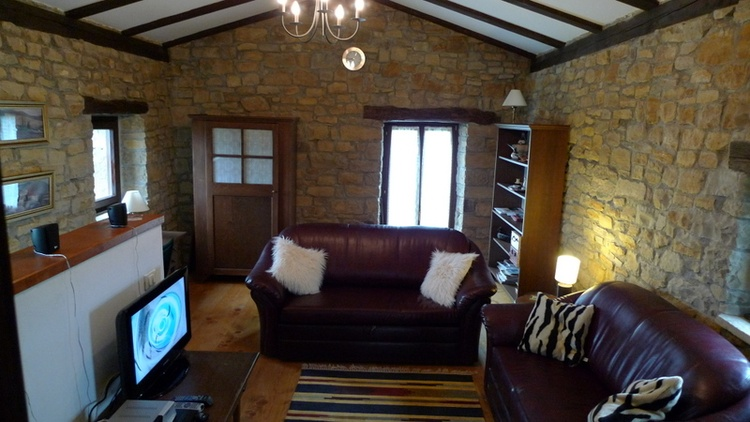Living Room Upstairs - Villa Klarici for 2