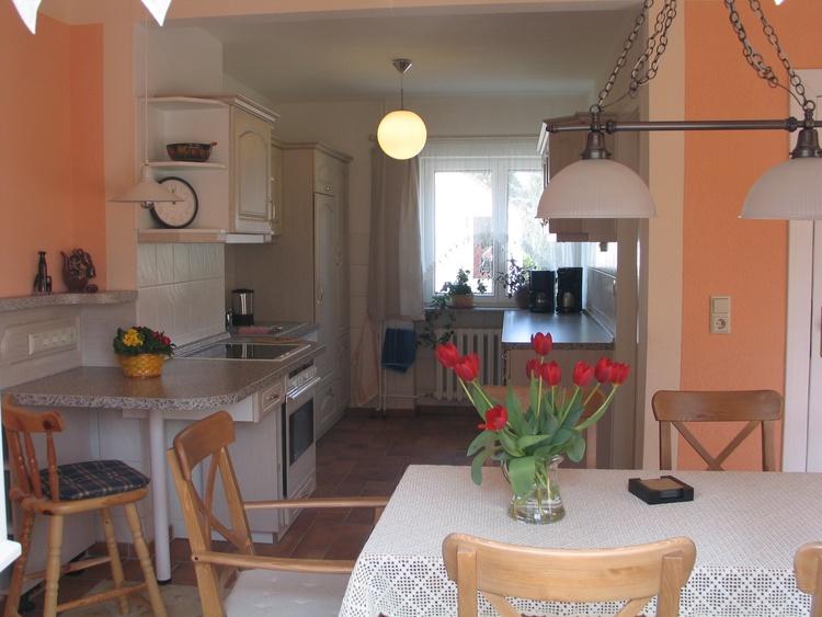 Küchenblick vom Wohnraum