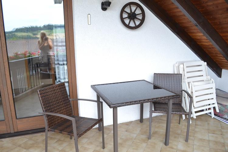 Balkon 45 m²