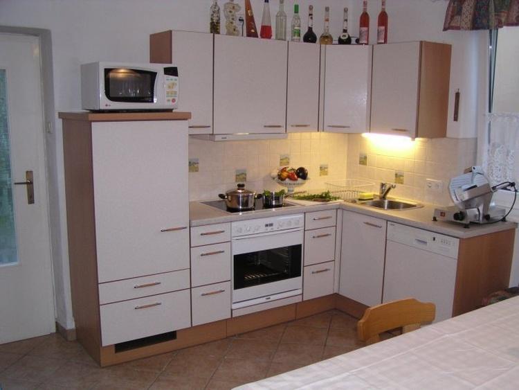Küche der 45m² Wohnung