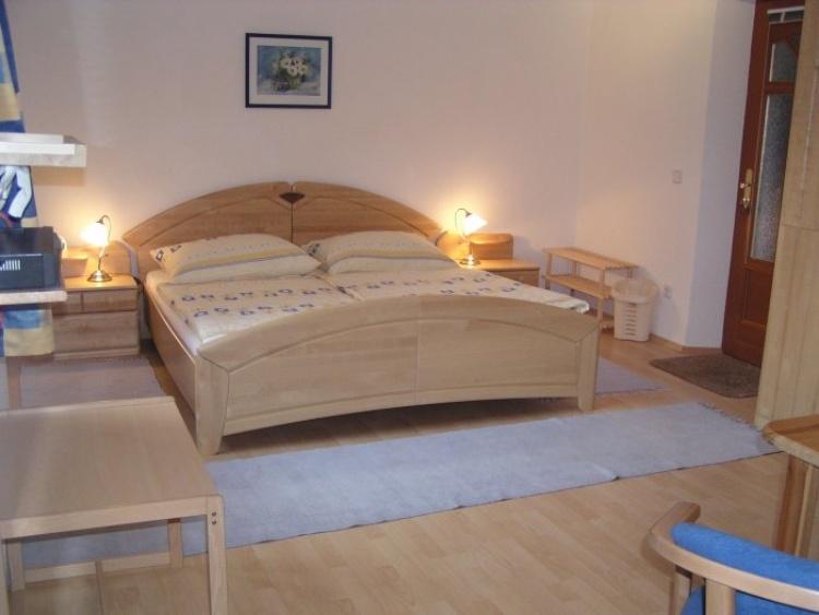 Schlafzimmer der 45m² Wohnung