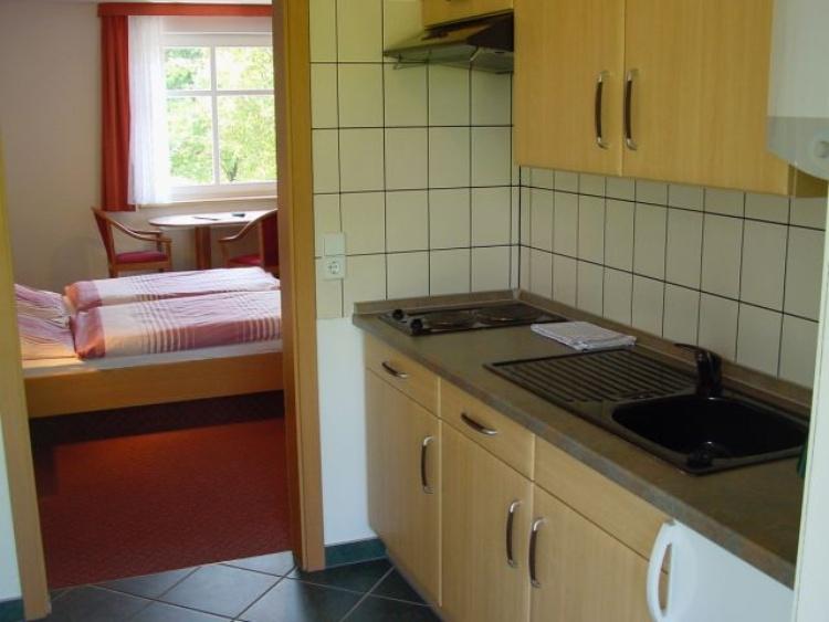 Spreewald Pension Spreeaue Apartment Küche