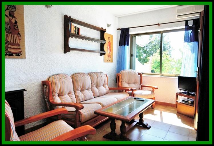 Wohnzimmer Bungalow Nr.1