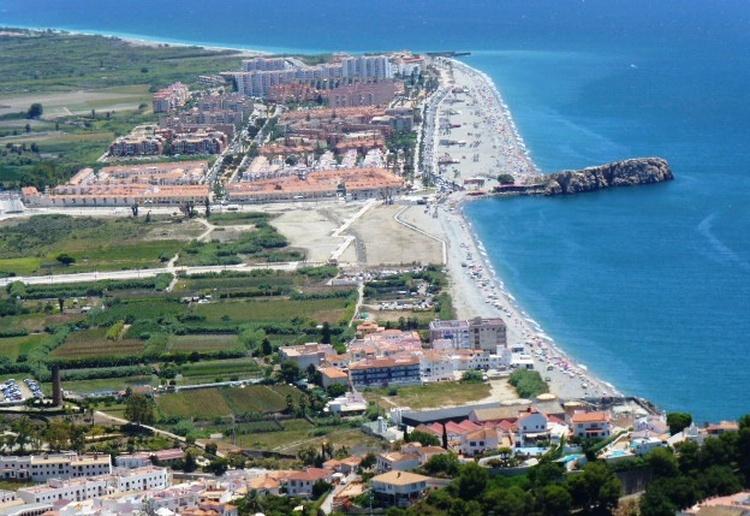 Strand von Salobrena